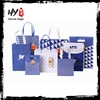Customized color cheap promotional customized shopping paper bag