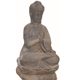 Cast Iron Metal Buddha Statue For Sale