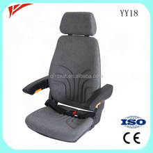 Cloth Material bus foldable seat with backrest adjustment