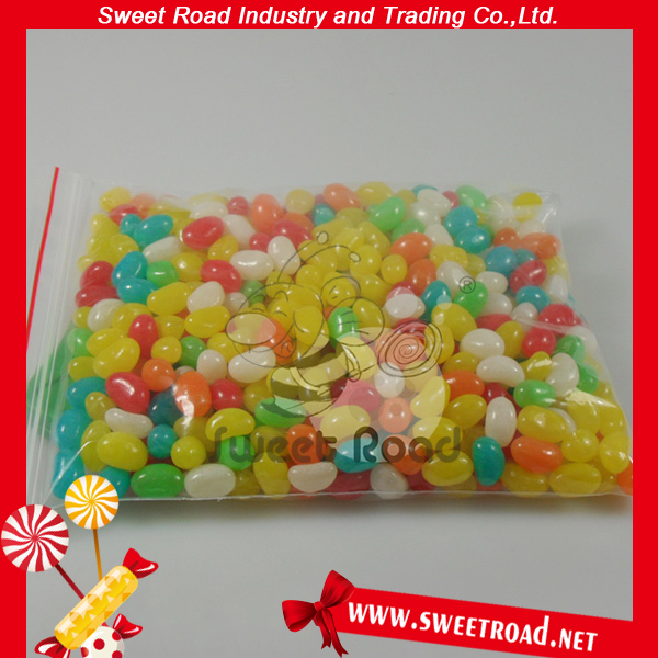 Wholesale Colorful Mini Assorted Fruit Flavor Mini Fruity Jelly Bean Candy