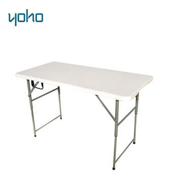 Table Pliante Reglable En Hauteur.Hdpe Pli Haut Demi Hauteur Reglable Table Pliante Valise Buy Tables Pliantes En Hauteur Table De Pique Nique Table Pliante En Plastique Product On