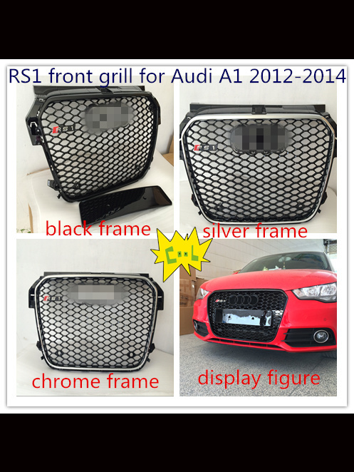 Newest car grill suit for Audi RS1 A1 2012-2015