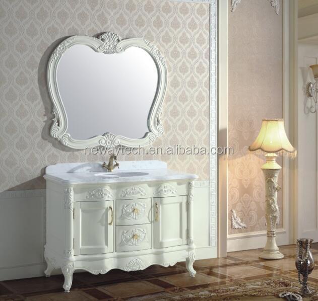 Wholesale Oak Wood Vanity Fair Bathroom Furniture/vanity Antique Furniture