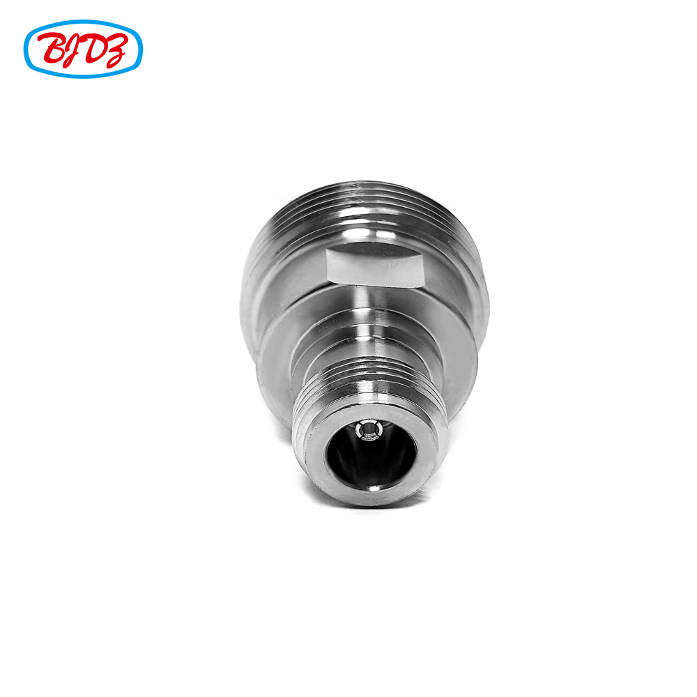 Straight 7/16 Din To N Coaxial Connector N Female Jack To 7/16 Din Female Jack RF Adaptor