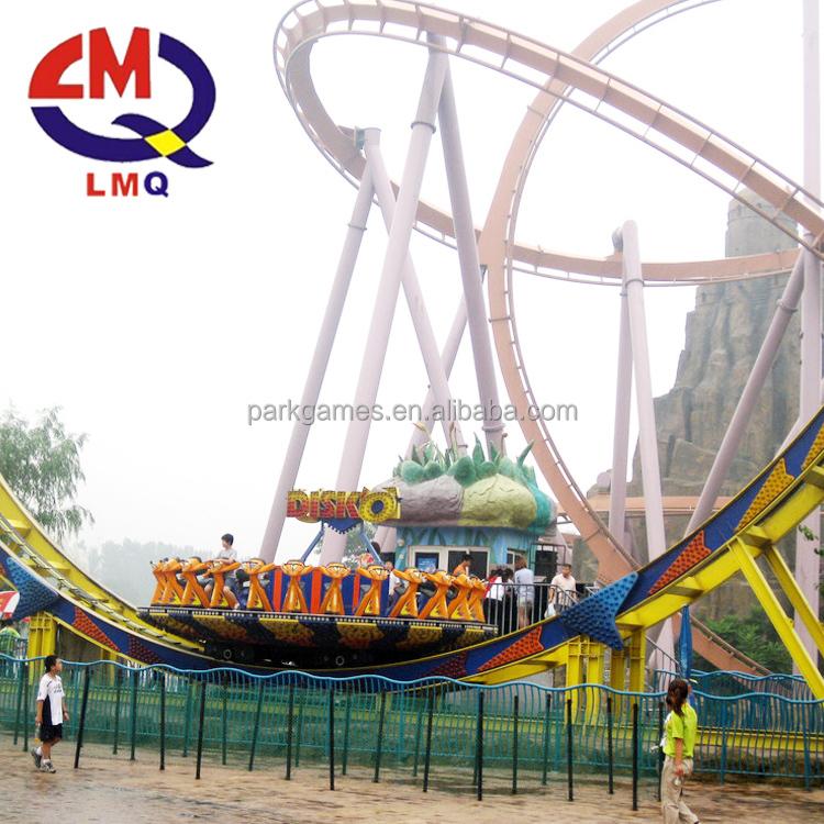 Fly UFO fairground ride rotary attractive amusement park equipment