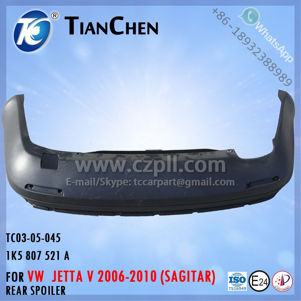 REAR SPOILER for JETTA 5 SAGITAR 2005-2009 / BUMPER SPOILER FOR VW JETTA 1K5 807 521 A - 1K5807521A - 1K5807521