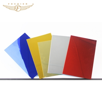 High Reflective Acrylic Sheet Colored Acrylic Mirror For Decoration ...