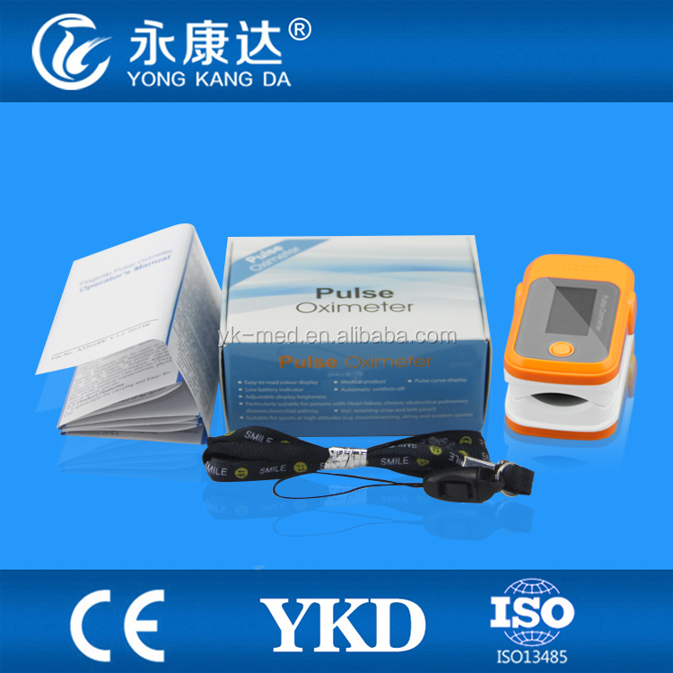 Wholesale Five Colours Fingertip Pulse Oximeter with OLED Display,Mini Blood Oxygen Machine,CE Approved