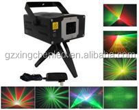 Animation laser light 650nm/200mw 532nm/80mw automatic/sound RGY party stage lighting twinkle projector dj dance christmas