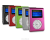 Factory Direct Sales Mini Clip Mp3 Player with Screen