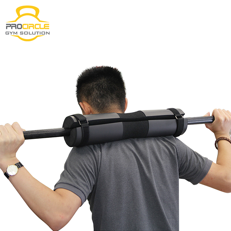 Weightlifting Protective Black Blue Foam Barbell Squat Pad