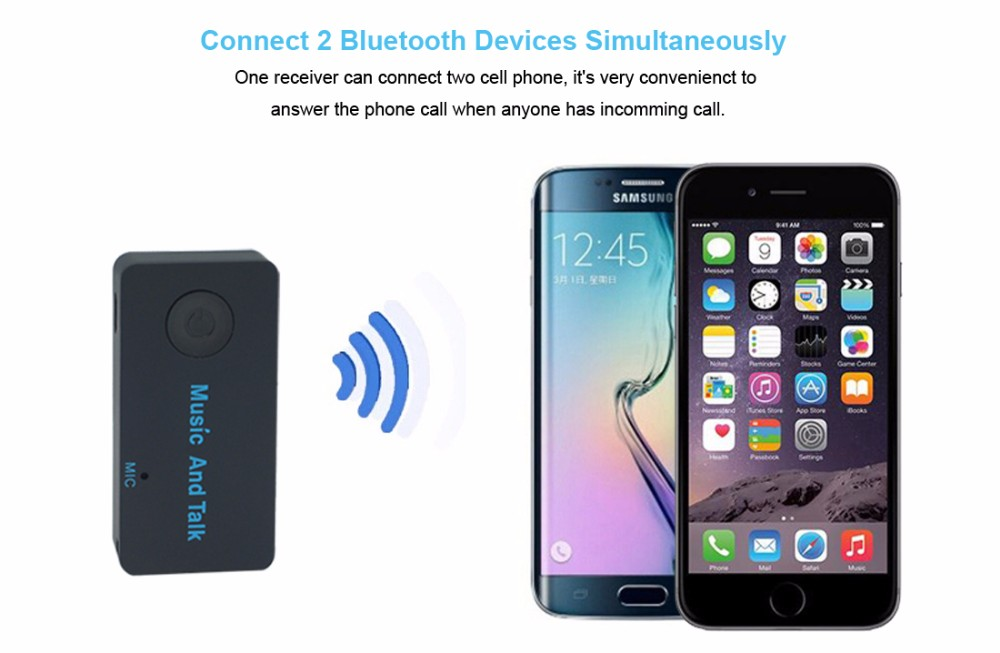 GXYKIT Wireless Car Receiver 3.5MM AUX  Home Stereo Music H3 Handfree  car BT Audio Adapter.jpg