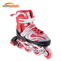 Manufactures Junior stable roller skate boots wheels quad for sale