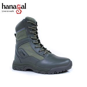 Hot sale camouflage dark green boots navy military shoes with cordura mesh