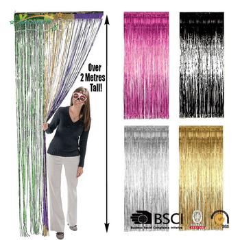 PVC curtain Tinsel Foil Fringe Door Wedding Birthday Shimmer  sc 1 st  Alibaba & Pvc Curtain Tinsel Foil Fringe Door Wedding Birthday Shimmer - Buy ...