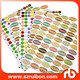 A4 sheet Oval & Round labels Essential Oil Bottle Labels paper & poly sticker label