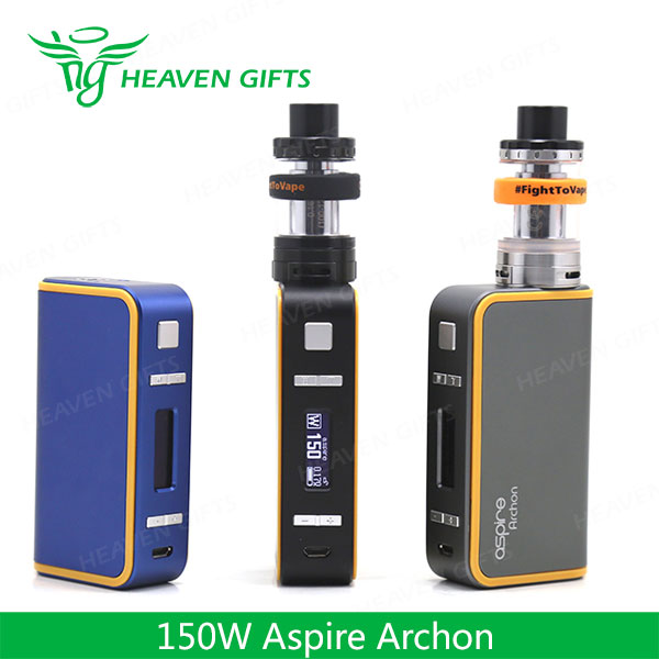 Newest 100% Original 150W Aspire Archon TC vape battery mods With Logo customization