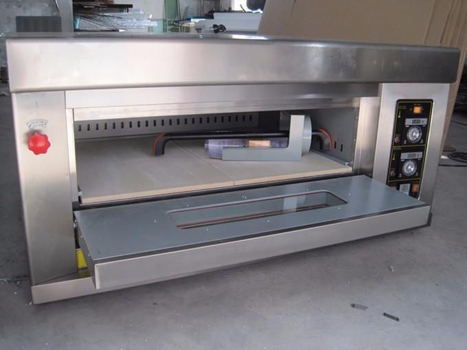 מגניב ביותר חמה למכירה sinochef 1 סיפון 2 מגשים תנור גז תנור פיצה מחיר-מכונות WR-55