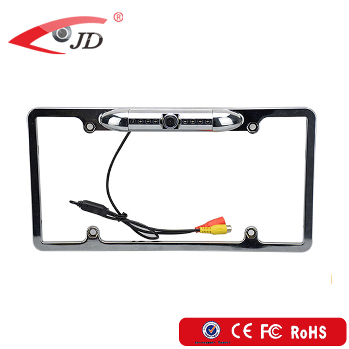Good quality Waterproof USA car number License plate rearview backup camera