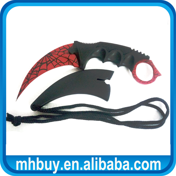 2016 Best Sale Sanding Coated Hunting Csgo Knife For Reviews Csgo Karambit