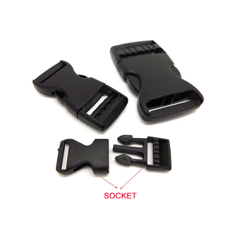 China made custom plastic buckles accessories plastic product making