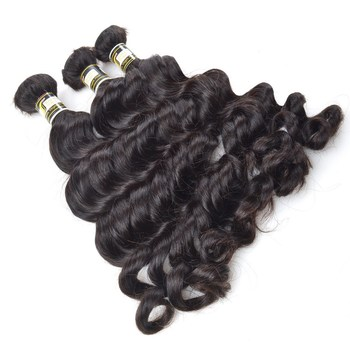 Ideal Virgin Hair Bulk Wholesale Bulk Hair Extension 6f6f591fd75d