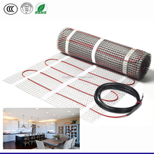 New type carbon fiber style underfloor electric heating mat for grid floor heating