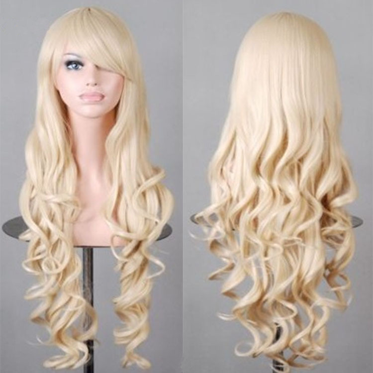 Factory direct sale 32'' cheap synthetic cosplay wig under $5 love live cosplay and h cosplay
