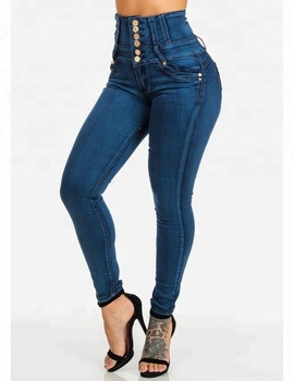 venta caliente online da9b5 e7767 Royal Wolf Jeans Manufacturer Blue Retro High Waist Butt Lift Skinny  Colombian Jeans Colombianos Levanta Cola - Buy Jeans Colombianos Levanta ...