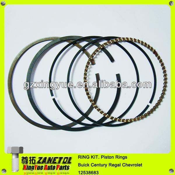 Car Auto Ring Kit Piston Rings Engine Piston Ring Set For Buick Century Regal Chevrolet Impala 12538683