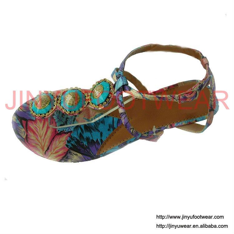 2011 Product Diseños Árabe 2011 Moda Diseño Sandalias De Buy 2011 sandalias Sandalias Planas On Señoras Nuevas 7fb6yg