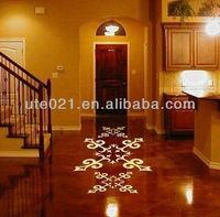 decorative removable bathroom floor tile sticker