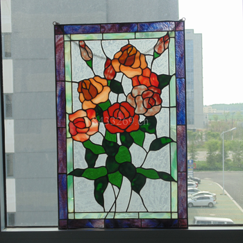 European building glass windows made by stained glass for home decoration