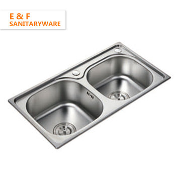 1.5mm Thickness Stainless Steel Bowl Sink Philippines Home 80 20 ...