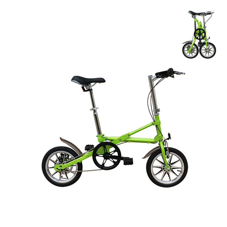 16 Inch aluminum alloy 7 speed adult portable mini <strong>folding</strong> bike made in china