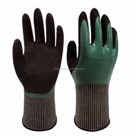 Better Grip Safety Anti -oil Work Latex Gloves / Protective Glove