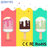 Shenzhen Factory Wholesale Ice Cream Power Bank with Lamp 6000mAh