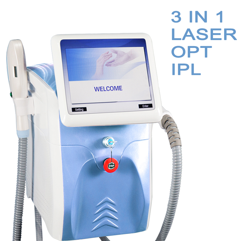 Magic Plus A0307 3 in 1 ND Yag Laser Hair Removal Machine IPL laser Portable