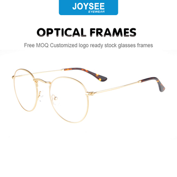 678f0c4a10c New trend stainless steel metal eyeglasses high quality glasses men optical  frame wood temple spectacle eyewear