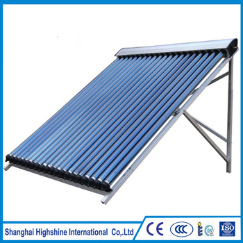 Most popular best quality pressure solar water heater with flat plate Solar Keymark Approved Pressure Evacuated Tube Collectors