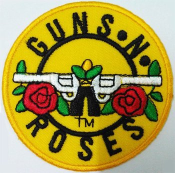 Guns n roses logo sign patches embroidered iron on fabric appliques guns n roses logo sign patches embroidered iron on fabric appliques thecheapjerseys Choice Image