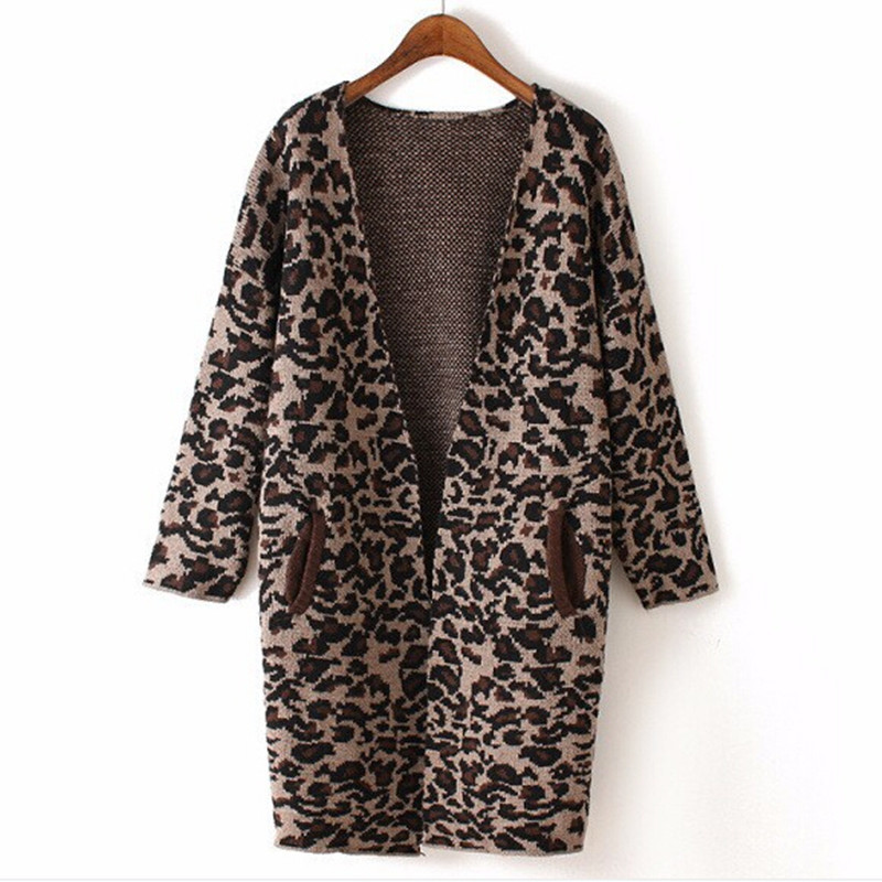 Cheap Long Leopard Cardigan, find Long Leopard Cardigan deals on ...