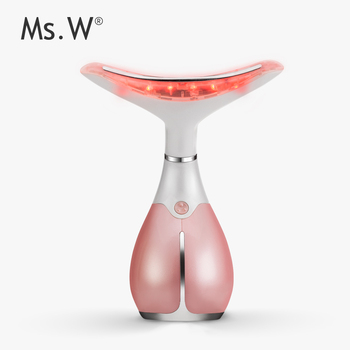 Msw Anti Aging Beauty Skin Machine Ionic Face And Neck Massager