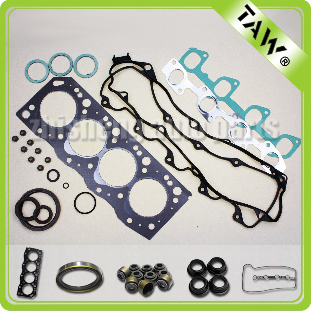 wholesale price Engine full Gasket set for Toyota Diesel Engine new 04111-54084 2L 2.4L 8V auto parts