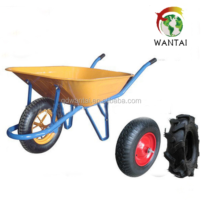 heavy duty construction wheelbarrow 6400