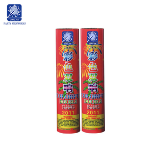 Artillery shells fireworks crackle bang outdoor play ground colorful bang