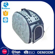Roihao new products fashion EVA cardboard pet carriers wholesale