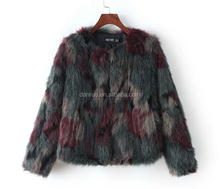 Winter Coat Women Fashion Import Overcoat Whole Peel Fox Fur Faux Vest High-Grade