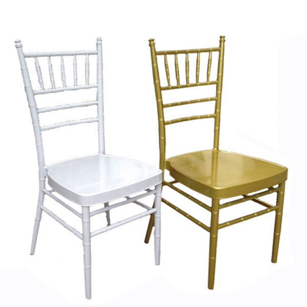 Cheap napoleon hotel event gold color wooden chair for party chiavari chair
