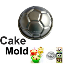 Aluminum Football Shape Cake Decoration Pan